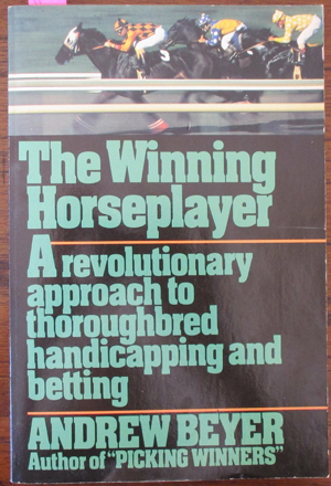 Image for Winning Horseplayer, The: A Revolutionary Approach to Thoroughbred Handicapping and Betting