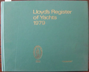 Image for Lloyd's Register of Yachts 1979