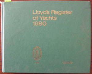 Image for Lloyd's Register of Yachts 1980