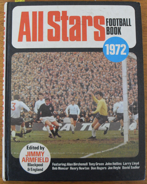 Image for All Stars Football Book 1972