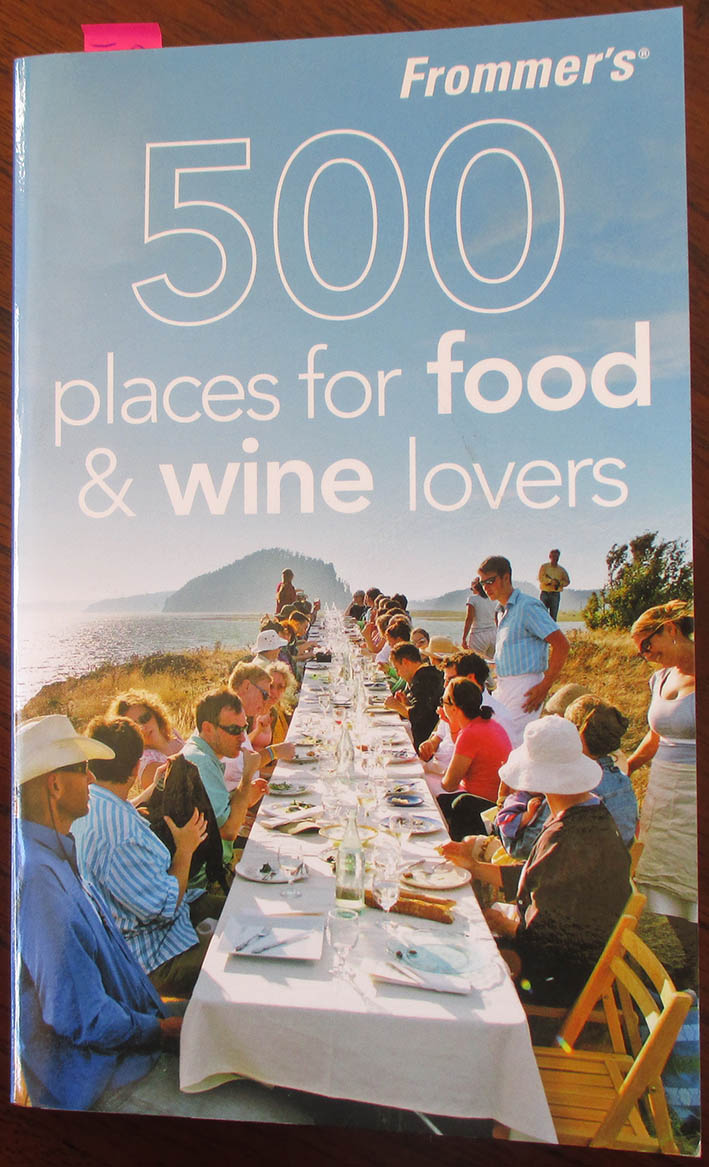 Image for Frommer's 500 Places For Food & Wine Lovers