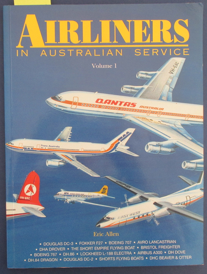 Image for Airliners in Australian Service: Volume 1
