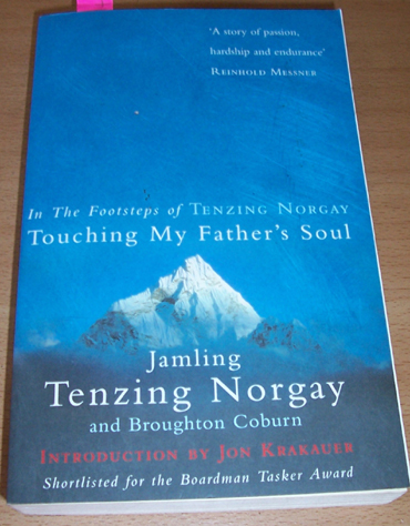 Image for In the Footsteps of Tenzing Norgay: Touching My Father's Soul