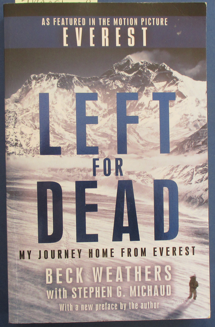 Image for Left For Dead: My Journey Home From Everest