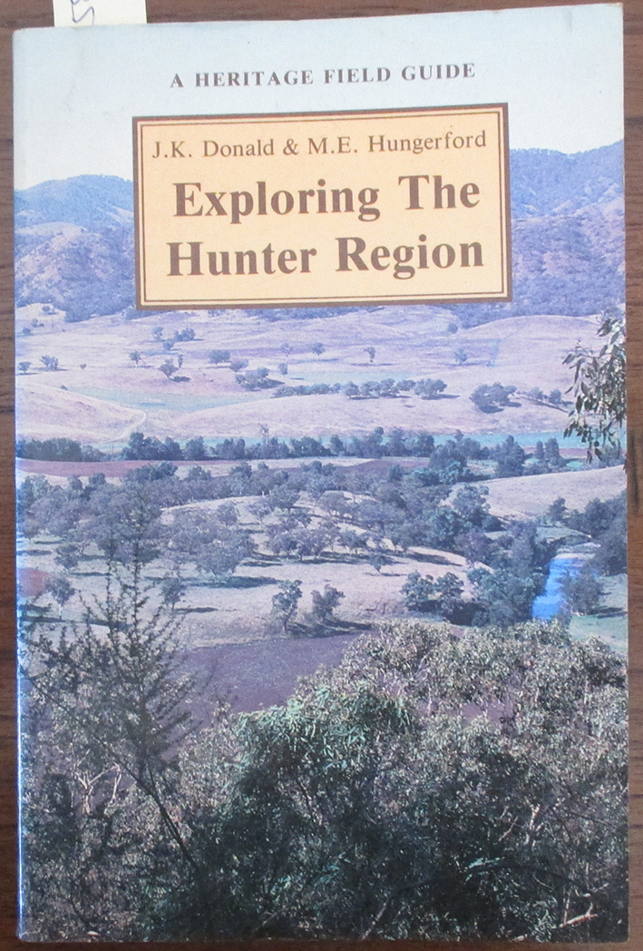 Image for Exploring the Hunter Region: A Heritage Field Guide
