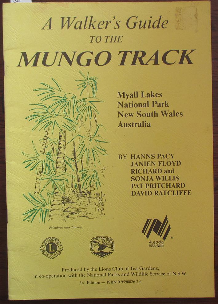 Image for Walker's Guide to the Mungo Track, A: Myall Lakes National Park, NSW, Australia