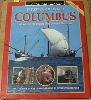 Image for Westward With Columbus: Set Sail on the Voyage That Changed the World (A Time Quest Book)