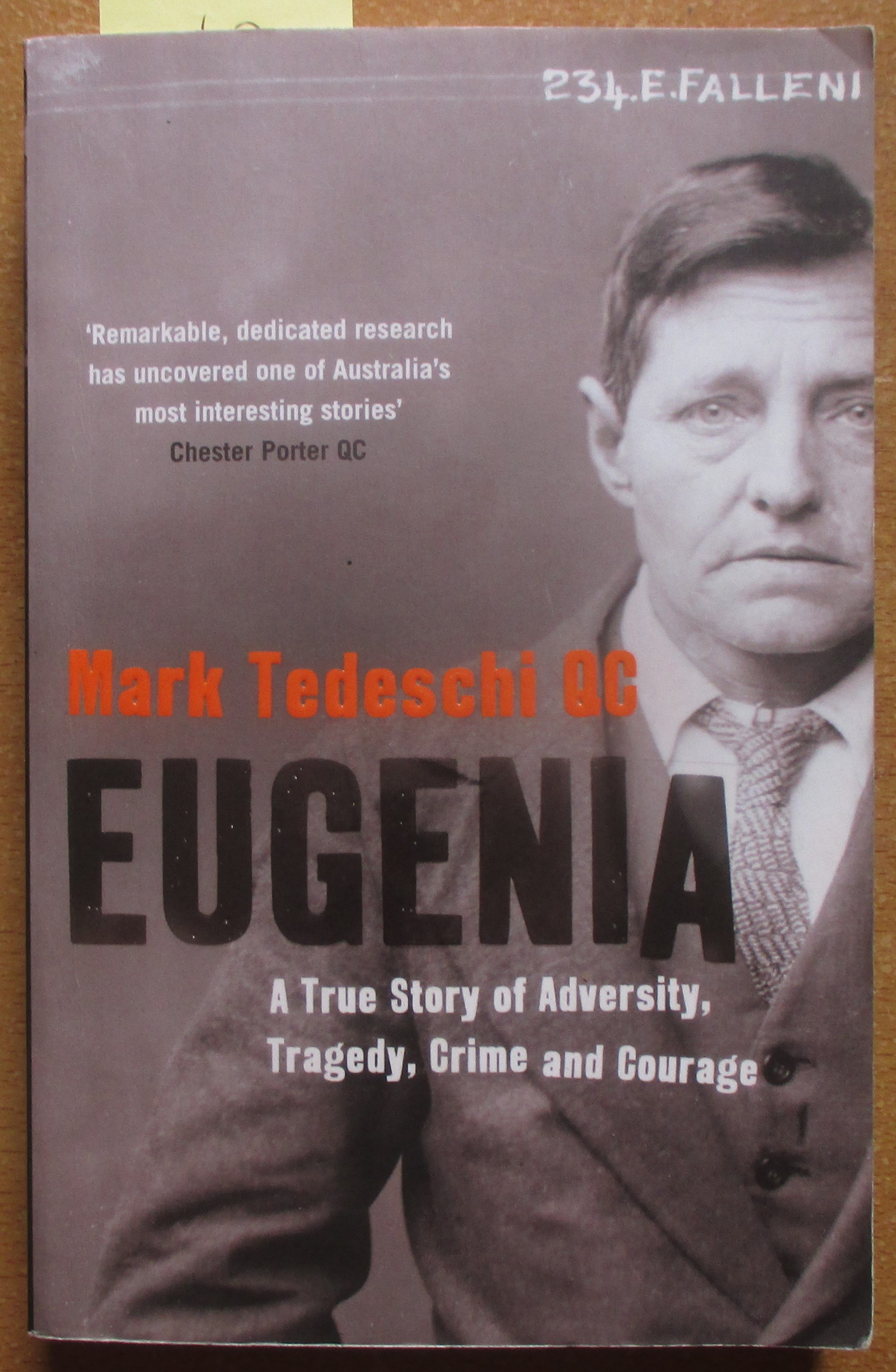 Image for Eugenia: A True Story of Adversity, Tragedy, Crime and Courage