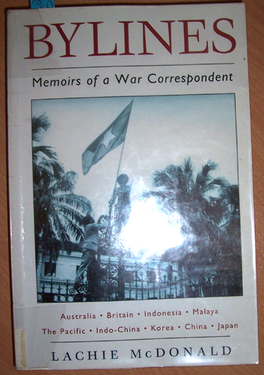 Image for Bylines; Memoirs of a War Correpondent