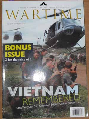 Image for Wartime: Official Magazine of The Australian War Memorial (Issue 35)