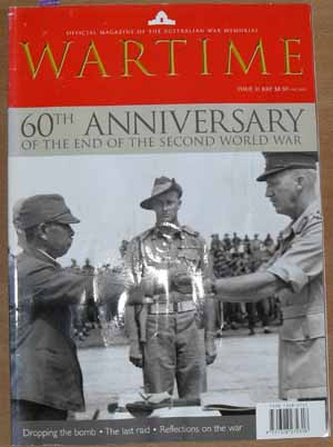 Image for Wartime: Official Magazine of The Australian War Memorial (Issue 31)