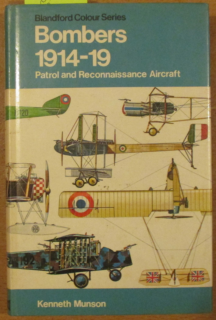 Image for Bombers: Patrol and Reconnaissance Aircraft 1914-1919 (The Pocket Encyclopaedia of World Aircraft in Colour)