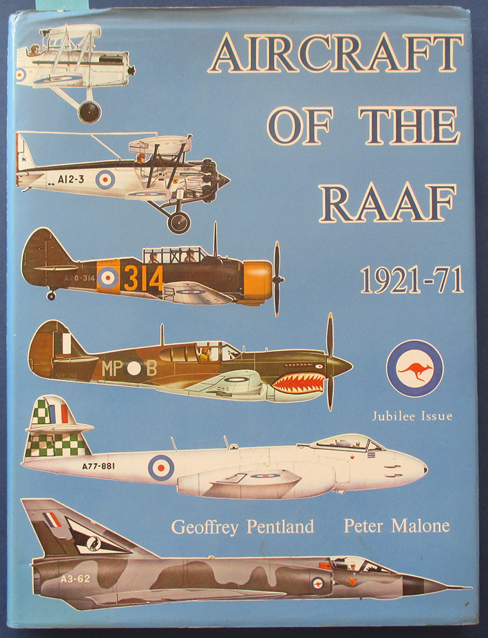 Image for Aircraft of the RAAF 1921-71 (Jubilee Issue)