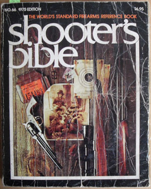 Image for Shooter's Bible: The World's Standard Firearms Reference Book (No. 66, 1975 edition)