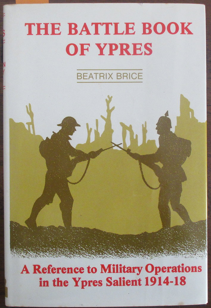Image for Battle of Book of Ypres, The: A Reference to Military Operations in the Ypres Salient 1914-18