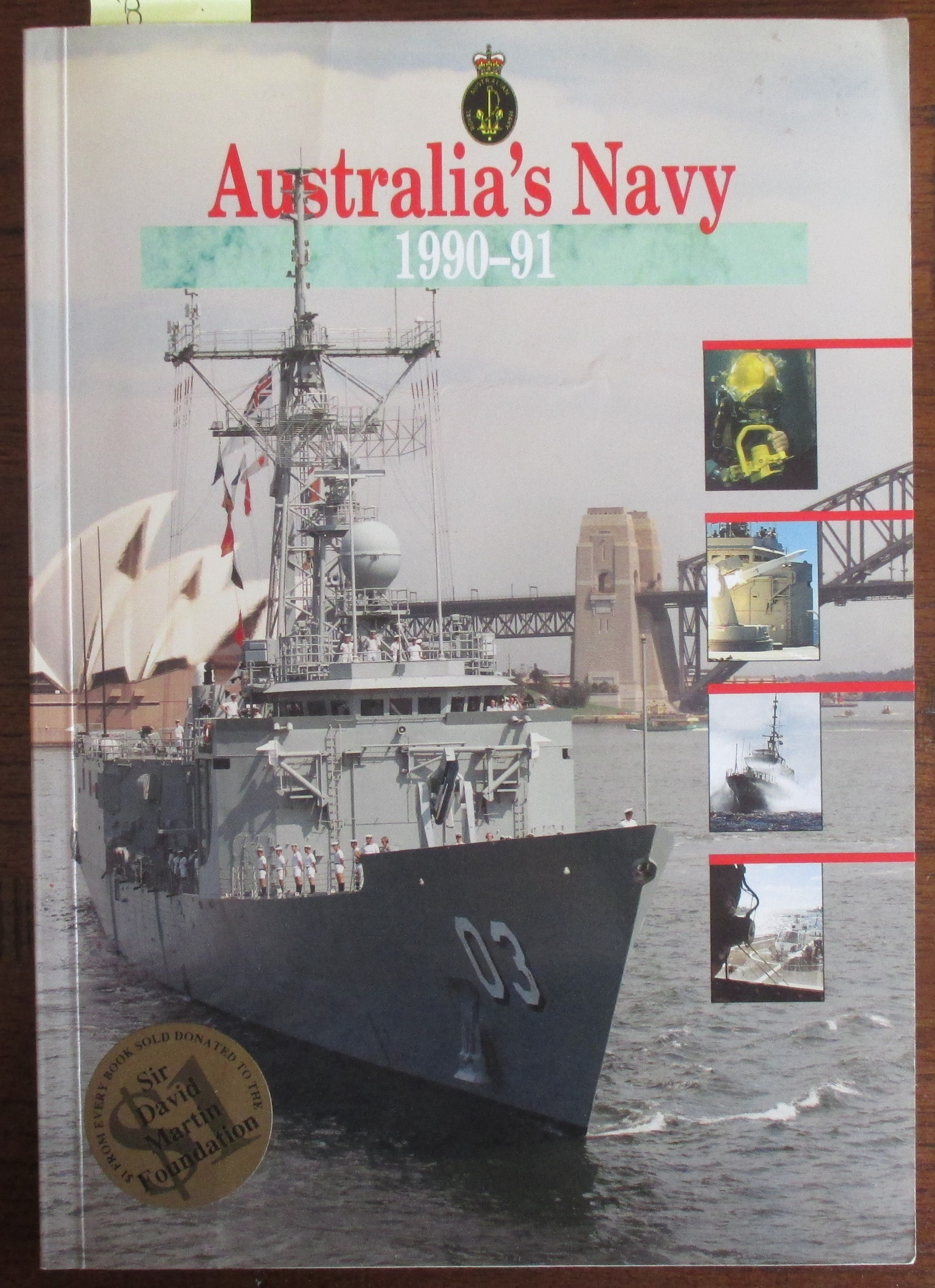 Image for Australia's Navy 1990-91