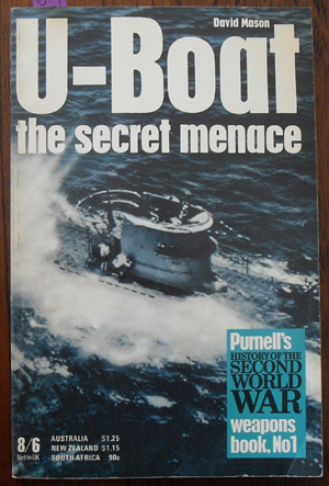Image for U-Boat: The Secret Menace (Purnell's History of the Second World War)