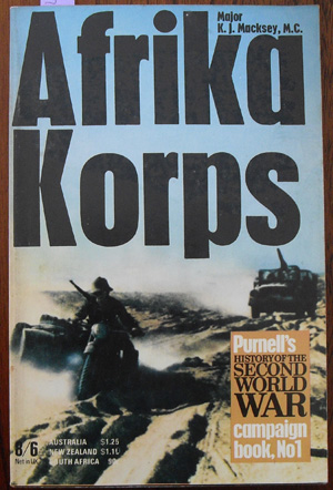 Image for Afrika Korps (Purnell's History of the Second World War)