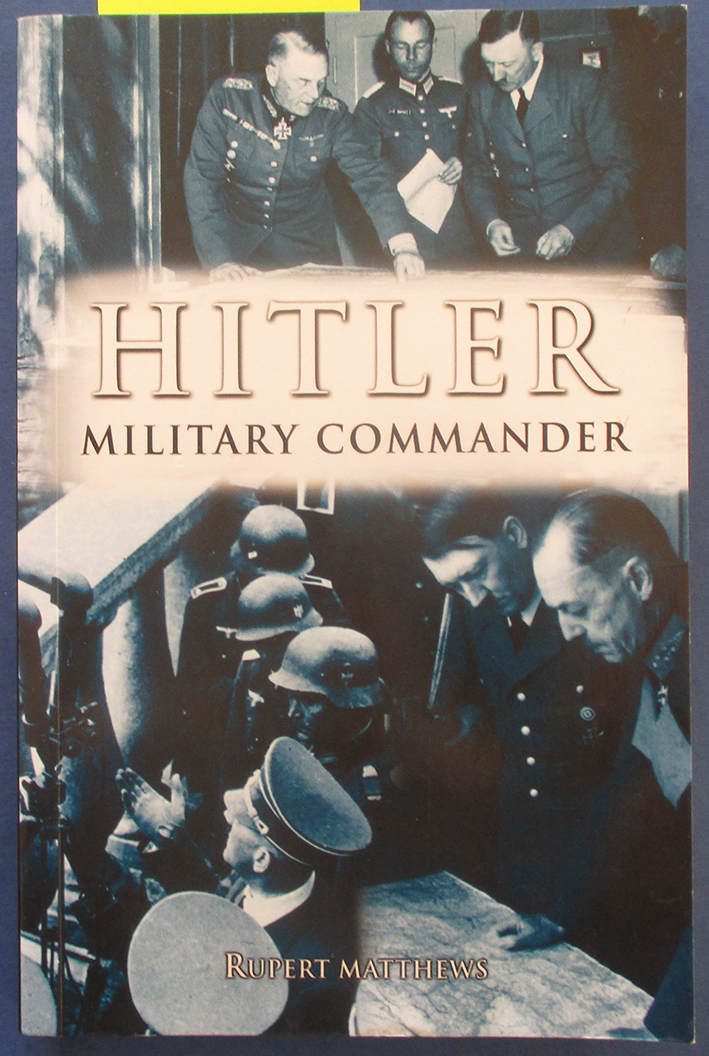 Image for Hitler: Military Commander
