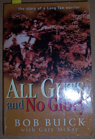 Image for All Guts and No Glory: The Story of a Long Tan Warrior