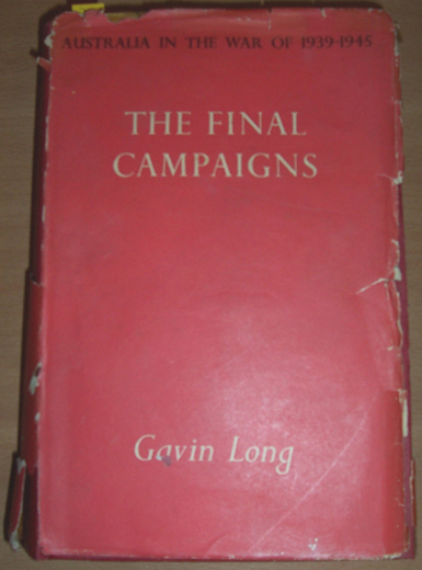 Image for Australia in the War of 1939-1945: The Final  Campaigns (Volume 7)